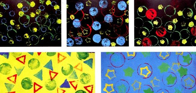 小班美术教案画圆形图片