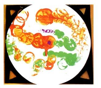 幼儿园小班美术活动设计《物体画》——圆之舞