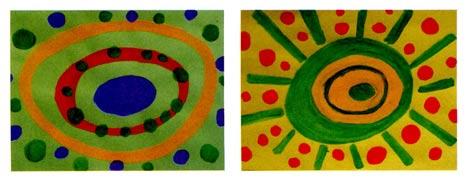 小班画画教案设计:百变太阳—幼儿园教案网