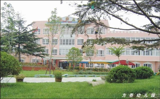 上海市嘉定区方泰幼儿园地处国际汽车城——安亭镇