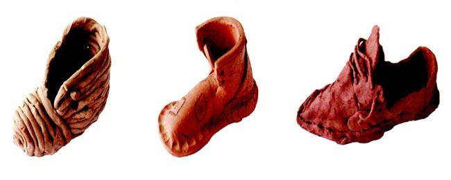 中班美术教案陶艺活动:鞋子diy—幼儿园中班教案