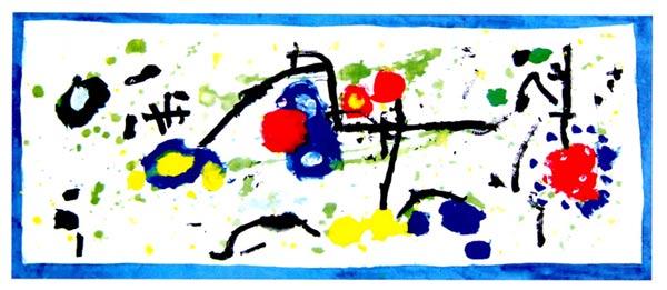 幼儿园中班画画教案设计:当点点遇见线线