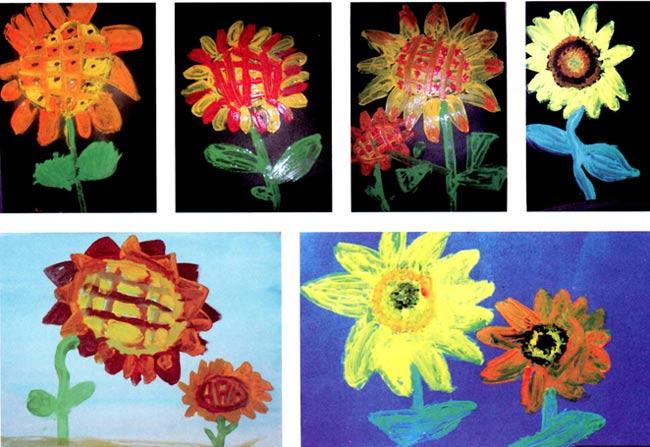 的花—幼儿园奥运教案
