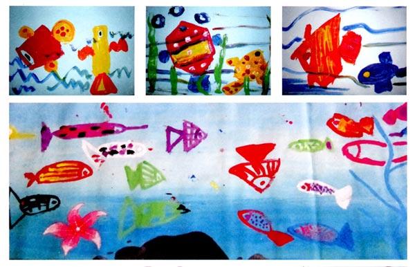 幼儿园中班美术活动设计:独一无二的脸
