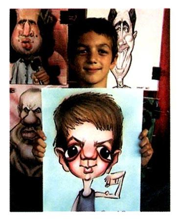 幼儿园中班美术活动设计:有趣的脸—幼儿园中班教案