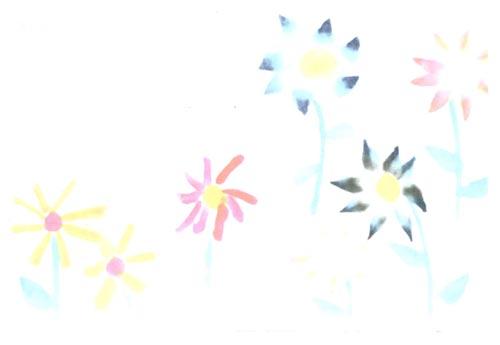 幼儿园中班中国画教案设计:美丽的小花—幼儿园中班